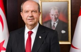 Cumhurbaşkanı Ersin Tatar'dan Buse Savaşkan...