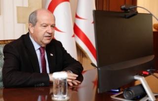 Cumhurbaşkanı Ersin Tatar gazetecilerin Sorularını...