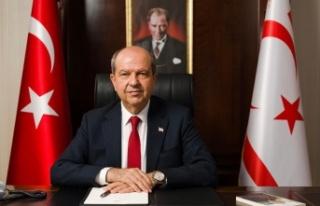 Cumhurbaşkanı Ersin Tatar'ın taziye mesajı