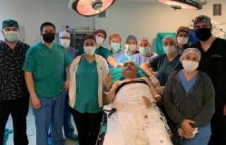 Dr. Burhan Nalbantoğlu Hastanesinde bir ilk: 'Uyanık...
