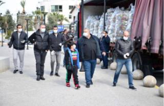 Falyalı Kardeşlerden 10 Bin aileye Gıda Yardımı