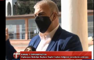 CANLI - Kanal T Dipkarpazda covid -19 önlemlerini...