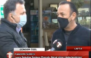 """Lapta Belediye Başkanı Mustafa Aktuğ: """"Bölgemizde..."""