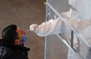 Mağusa'da 200 kişiye ücretsiz PCR testi yapıldı