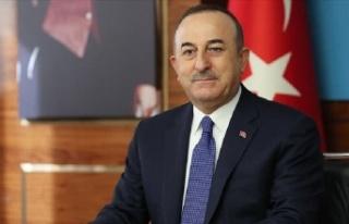 Mevlüt Çavuşoğlu, İngiliz mevkidaşı Raab ile...