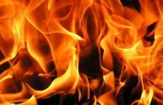 Ocakta Unutulan Yağ Yangına Neden Oldu
