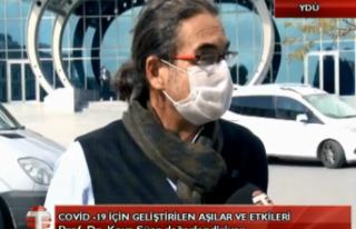 CANLI:Prof.Dr Kaya Süer Covid-19 için Aşılara...