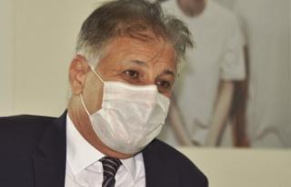 """"""" Sağlık Bakanı Dr. Ali Pilli, Covid-19 nedeniyle..."""