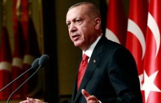 Türkiye Cumhurbaşkanı Erdoğan'ın açıklamaları...