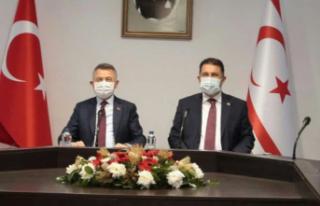 Türkiye Cumhurbaşkanı Yardımcısı Fuat Oktay'ın...