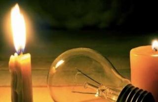 Yarın Elektrik Verilemeyecek