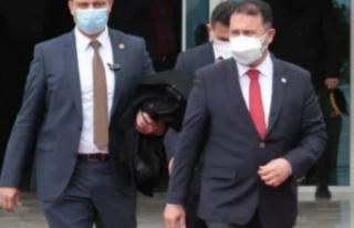 Başbakan Saner, Türkiye'ye gitmek üzere yola...