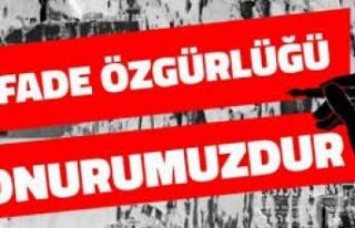 Basın örgütleri 'ifade özgürlüğü'...