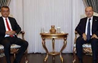 Cenevre öncesi Ersin Tatar'ın görüşmeleri...