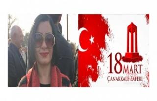 Cihan Kombos'tan Çanakkale Zaferi Mesajı