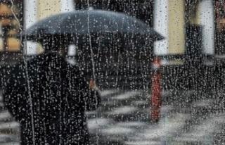 En fazla yağış nerde?