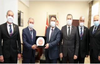 Ersan Saner, Kıbrıs Türk Emekli Subaylar Derneği...