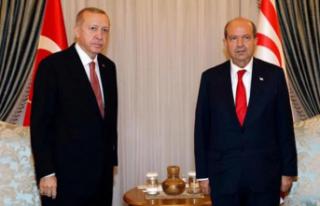 Ersin Tatar, Recep Tayyip Erdoğan'ı arayarak...