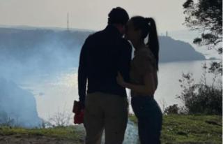 Ünlü Çiftin Romantik Anların