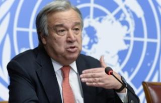 Birleşmiş Milletler Genel Sekreteri Antonio Guterres...