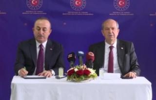 Çavuşoğlu: Maraş, Ercan ve Mağusa Limanı'nın...
