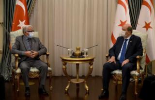 """Ersin Tatar: """"Bir anlaşma olması için Kıbrıs..."""