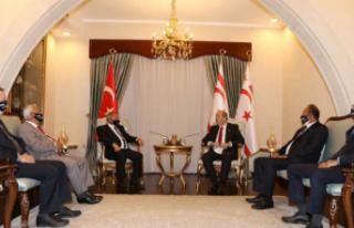 """Ersin Tatar: """"Devletimizden ve egemenliğimizden..."""