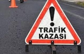 Gazimağusa'da kaza; motosiklet sürücüsü Vakkas...