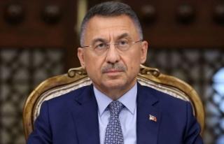 Türkiye Cumhurbaşkanı Yardımcısı Fuat Oktay...