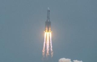 Çin'in uzaya gönderdiği roket kontrolden çıktı:...
