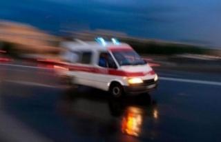 Demirhan'da iş kazası, yüksekten düştü...