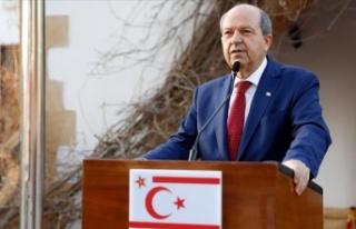 """Ersin Tatar: """"Bir yöntemi varsa, Kıbrıs Cumhuriyeti..."""