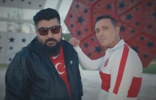 A Milli Futbol Takımı'nın EURO 2020 şarkısı...