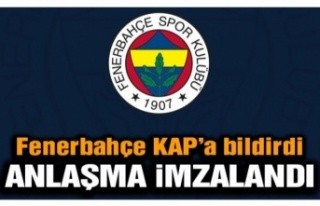 Fenerbahçe'de beklenen imza atıldı