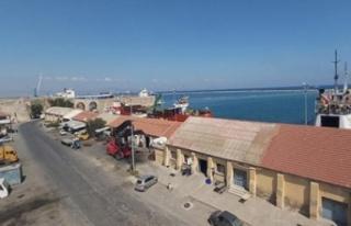 Gazimağusa Serbest Liman'da grev var