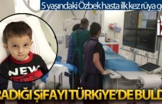 Aradığı şifayı Türkiye'ye  de buldu