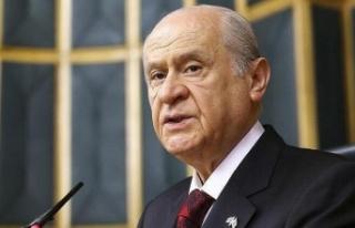 Bahçeli'den Kıbrıs açıklaması: Ok yaydan...