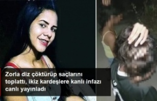 Canice infazı sosyal medyadan yayınladı