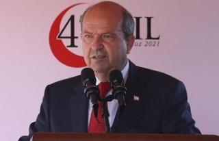 """Cumhurbaşkanı Ersin Tatar: """"Anadolu suyu çesmelerimizden..."""