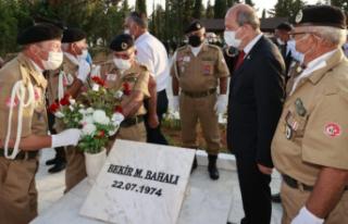 Topçuköy Şehitleri anma töreni Ersin Tatar'ın...