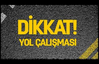 Çatalköy-Esentepe yolunu kullanacak olanların dikkatine...
