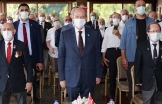 """Ersin Tatar: """"Kıbrıs Türk halkının örgütlendi..."""