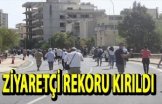Kapali Maraş'i 300 Günde 180.207 Kişi Ziyaret...