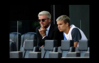 David Beckham'ın oğlu Romeo, ilk maçına çıktı