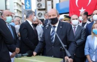 """Ersin Tatar: """"KKTC her zaman Türk insanına..."""
