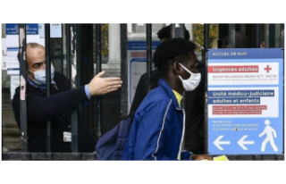 Fransa'da, Kovid-19 salgınında son 24 saatte 5...
