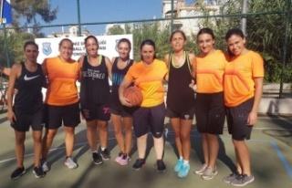 Streetball turnuvası bu yıl Girne Belediyesi Spor...