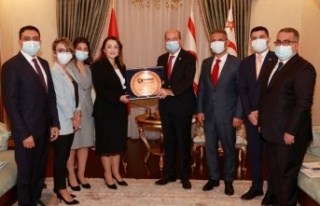 """Ersin Tatar: """"KKTC, Doğu Akdeniz'deki stratejik..."""