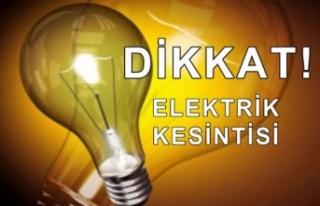 Girne'nin doğusunda yarın elektrik kesintileri...
