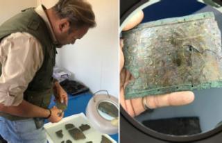 Urartu savaşçısının bronz kemeri bulundu